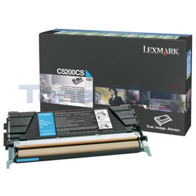 LEXMARK C520 C530 TONER CARTRIDGE CYAN RP